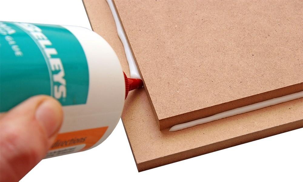 Cách ghép ngang bằng keo ghép gỗ 2 thành phần