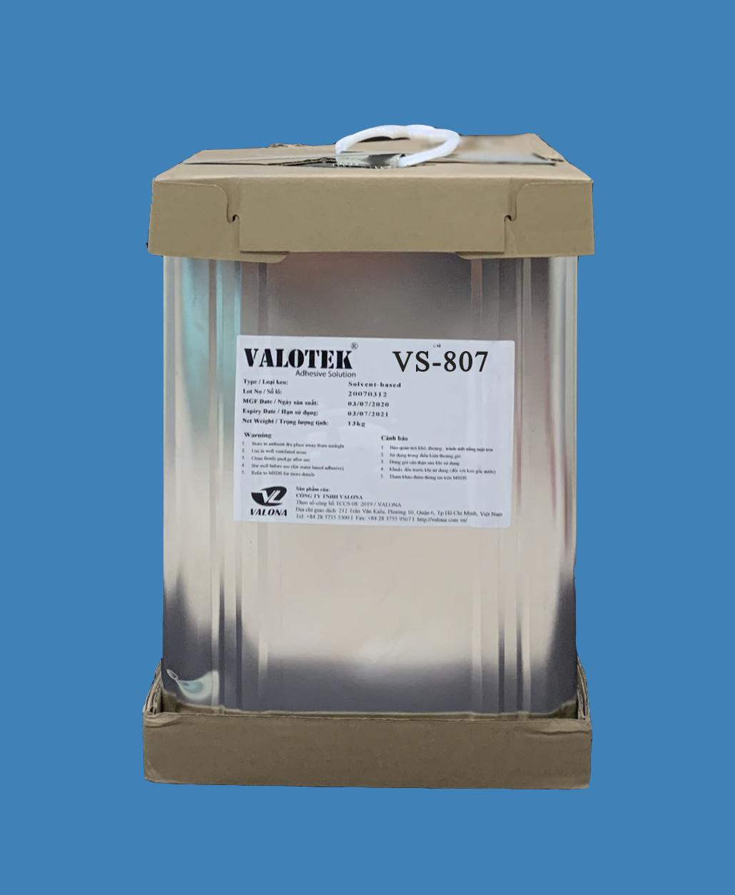 SOLVENT-BASED ADHESIVE FOR WOOD INDUSTRY VALOTEK VS-807